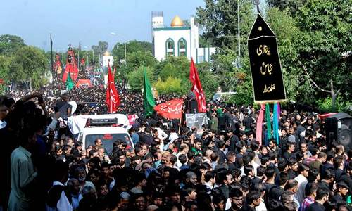Muharram 9 observed across Pakistan amid tight security