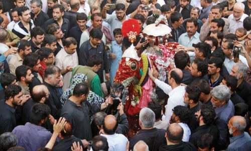 ملک بھر میں یوم عاشور عقیدت و احترام سے منایا جارہا ہے