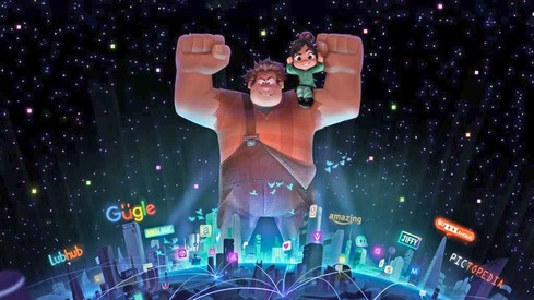 We now know why Ralph goes to the internet in Wreck-it-Ralph 2