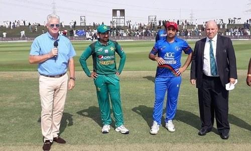 اشیا کپ: افغانستان کا پاکستان کے خلاف ٹاس جیت کر بیٹنگ کا فیصلہ