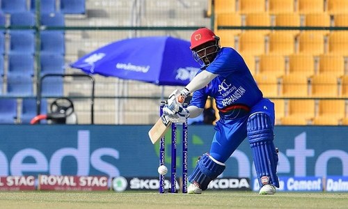 Shahzad opened the Afghan innings with Ihsanullah — PCB