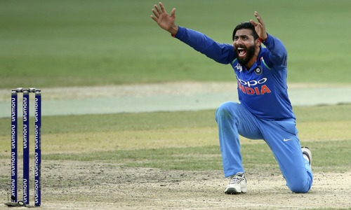 Jadeja's four keep Bangladesh down to 173