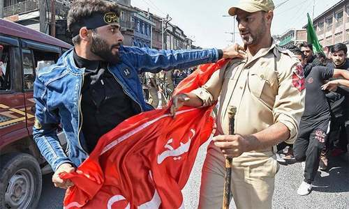 مقبوضہ کشمیر میں نماز جمعہ اور عاشورہ کے جلوسوں پر پابندی