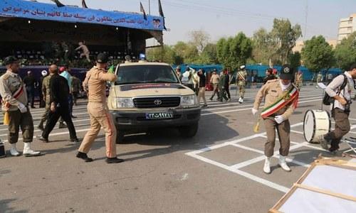 ایران: فوجی پریڈ پر حملے میں 8 گارڈز ہلاک، 20 افراد زخمی
