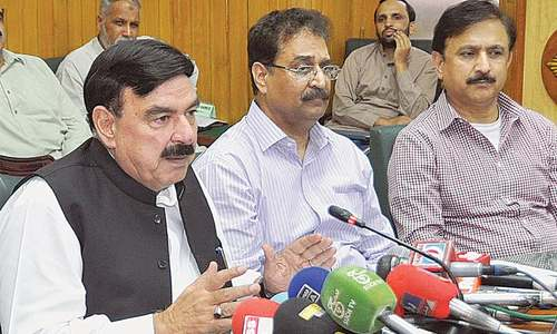 Rashid announces plan to fill 10,000 vacancies in railways