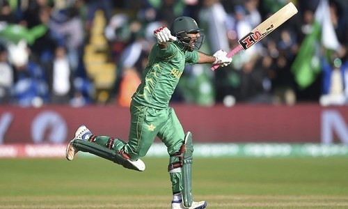 Pak vs India clash: Fakhar, Imam at the crease