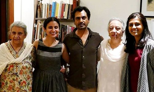 منٹو کی بیٹیوں کیلئے والد پر بنی فلم کی ممبئی میں نمائش