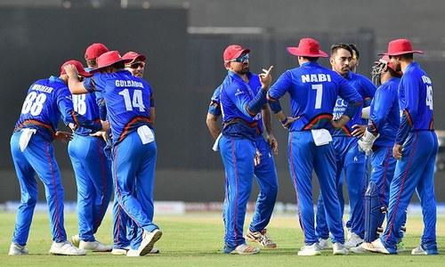 ایشیا کپ: افغانستان کو بنگلہ دیش سے جیت کیلئے 250 رنز درکار