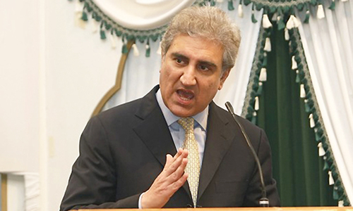 Pakistan won't abandon peace efforts, says Qureshi