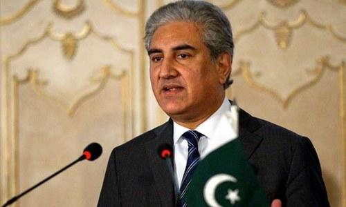 پاکستان امن کی کوششوں سے دستبردار نہیں ہوگا، شاہ محمود قریشی