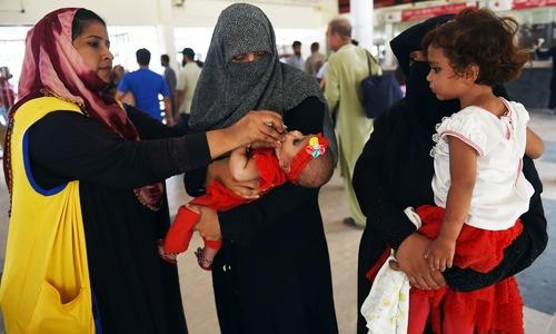 Pakistan to become polio-free by next year, says President Alvi