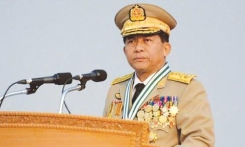 اقوام متحدہ کو میانمار کی خودمختاری پر 'مداخلت کا حق نہیں '، آرمی چیف