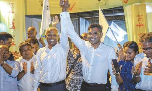 Opposition wins Maldives polls, president concedes defeat