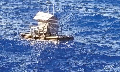 Indonesian teenager rescued after drifting for 49 days at sea