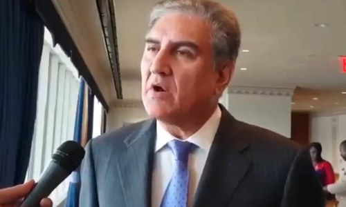 FM Qureshi discusses India's construction of dams with World Bank president