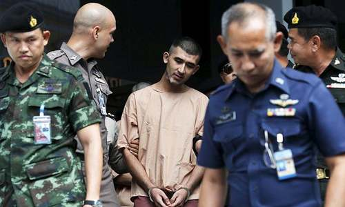 Thai court finds 9 Muslim men guilty in Bangkok bomb plot