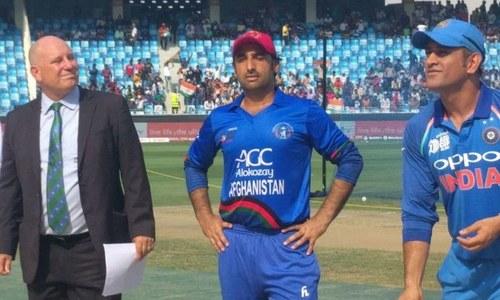 ایشیا کپ: افغانستان کا بھارت کےخلاف ٹاس جیت کر بیٹنگ کا فیصلہ