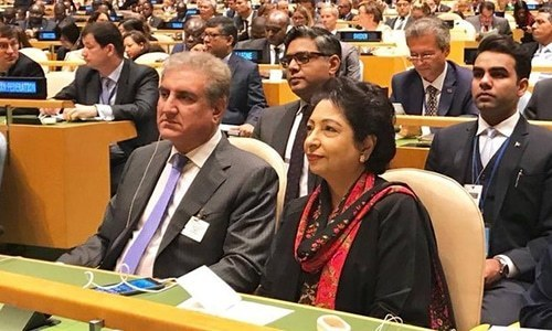 In pictures: FM Qureshi heads to the US