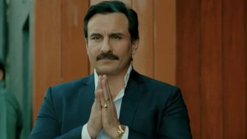 In Baazaar's trailer, Saif Ali Khan is a ruthless businessman and mentor