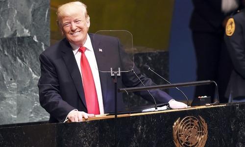 امریکا صرف اپنے 'دوستوں' کو امداد دے گا، ڈونلڈ ٹرمپ