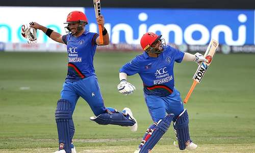 ایشیا کپ میں بھارت کی فتوحات کا سلسلہ تمام، افغانستان سے میچ ٹائی
