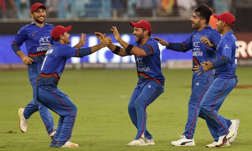 Shahzad ton helps Afghanistan tie against India