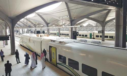 High-speed train linking Makkah with Madina launched