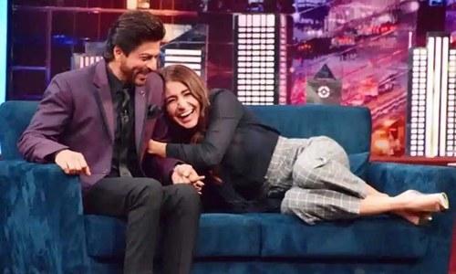'شاہ رخ خان سے بات کرتے ہوئے ڈر لگتا تھا'