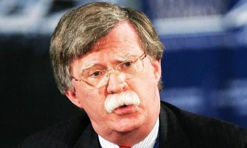 امریکی مشیر قومی سلامتی کی ایران کو ناقابلِ تلافی نقصان کی دھمکی