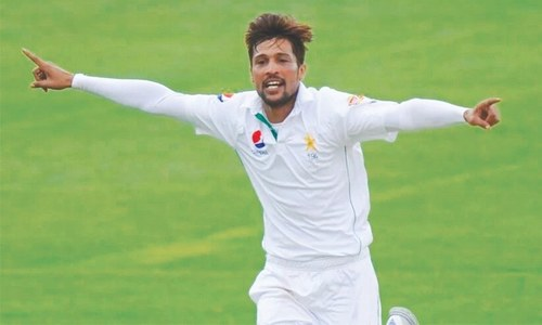 Pakistan drop Amir for Australia Test series
