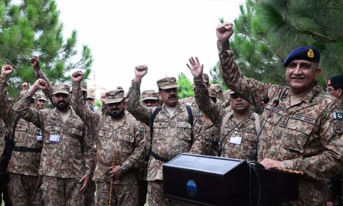 COAS says peace to be ensured for socio-economic progress