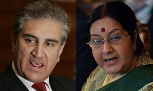 Qureshi, Sushma avoid each other at Saarc moot in New York