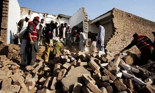 Primary school blown up in Chitral
