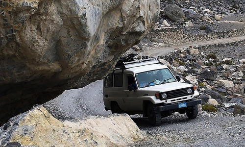 Daring death on the remote roads of Hunza