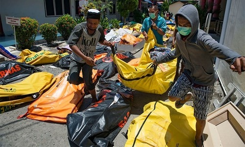 Death toll from quake in Indonesia rises to 1,234: govt officials