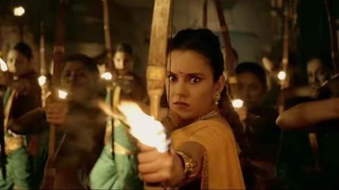 Kangana Ranaut is absolutely hardcore in the Manikarnika teaser