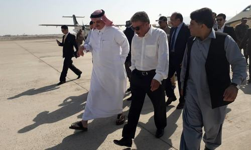Saudi delegation visits Gwadar port, briefed on development projects