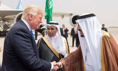 Saudi king wouldn't last 2 weeks without US support, says Trump