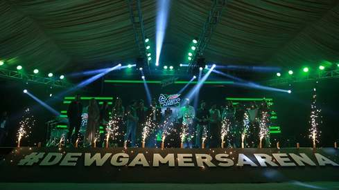 Here's all you need to know about #DewGamersArena launch event