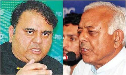 Jhelum RO issues show-cause notices to Fawad Chaudhry, Sarwar Khan for violating code of ethics