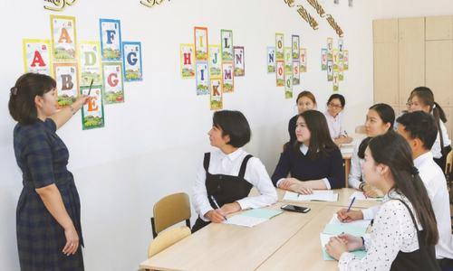 Kazakhstan embraces Latin script in break with past