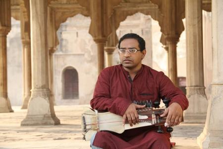 Zohaib Hassan — the Sarangi player at Lahore Fort.