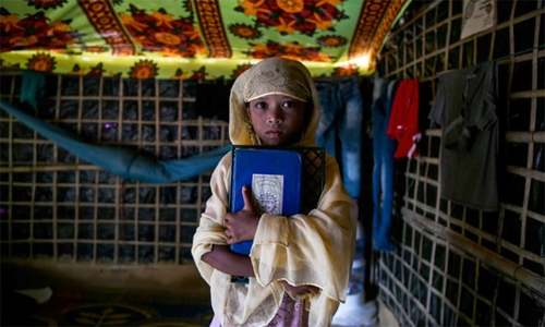 In absence of formal schooling, Rohingya kids in refugee camps turn to madressahs
