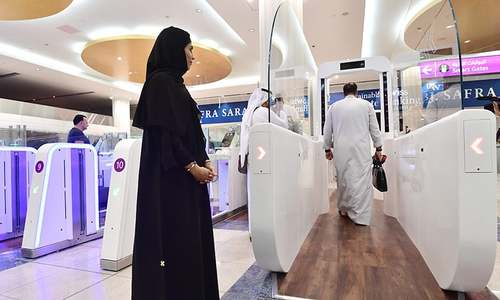 Dubai airport begins using biometric tech at security