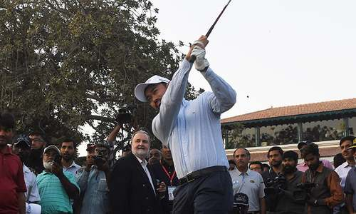 Birdies in the air: Golf back in Pakistan after 11-year hitch