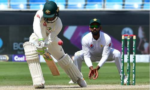 Australia's Usman Khawaja, Travis Head frustrate Pakistan victory charge