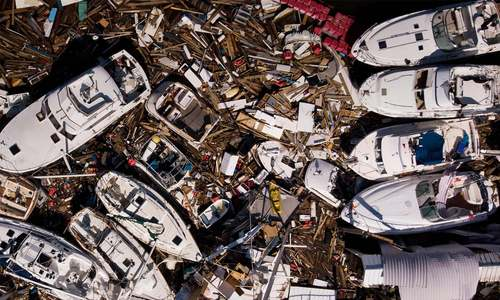 امریکا میں سمندری طوفان 'مائیکل' نے تباہی مچادی