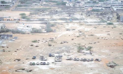 Empty land in Gwadar | Kohi Marri