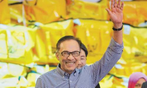 Anwar makes fairy-tale return to politics after big poll win