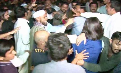 راولپنڈی: یوسی 21 میں پی ٹی آئی اور مسلم لیگ (ن) کے کارکنان میں تصادم